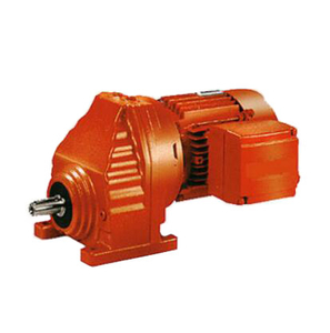RX series single helical gear reducer