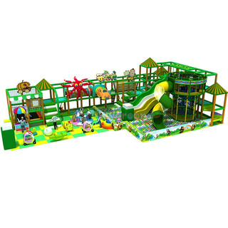 Jungle Style Soft Children Indoor Playground with Ball Pit