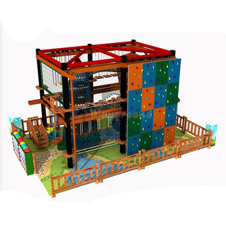 Amusement Themed Adventure Park Ropes Course for Children