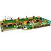 Jungle Themed Indoor Amusement Park Children Soft Play Structure