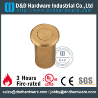 Brass Dust Proof Strike for Outside Steel Doors with Satin Nickle -DDDP003