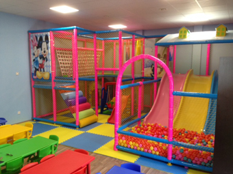 Indoor playground in Cyprus
