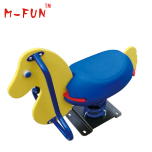 Spring rocking horse for kiddie