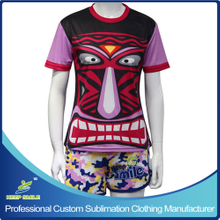 Custom Made Sublimation Girl's Lacrosse Shooting Shirt and Swift Short