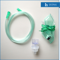 Disposable Oxygen Mask With Nebulizer