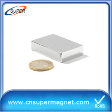 Rare-earth 15*10*2mm permanent Neodymium magnet Block