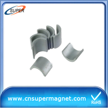 China Arc Ferrite Magnet for motor