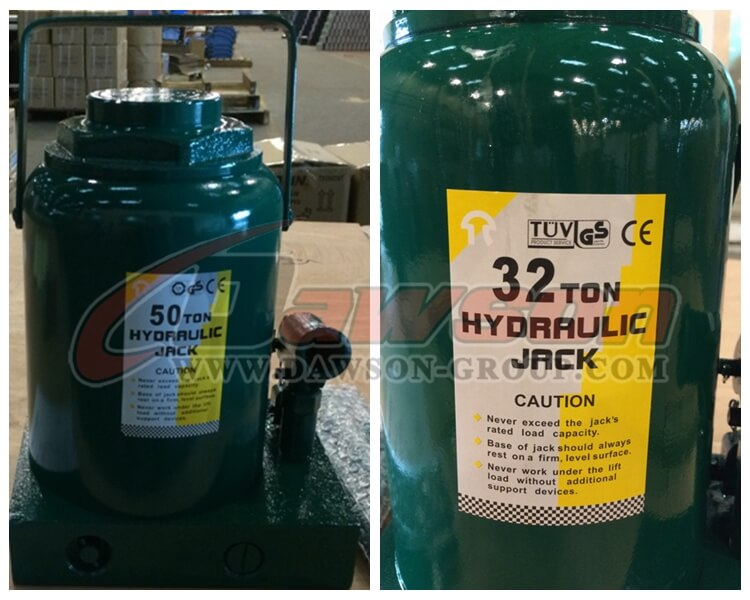 Hydraulic Bottle Jacks European Series - China manufacturer supplier