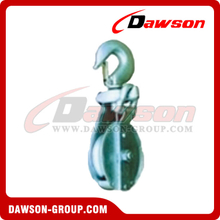 DS-B003 Snatch Block With Hook For Manila Rope