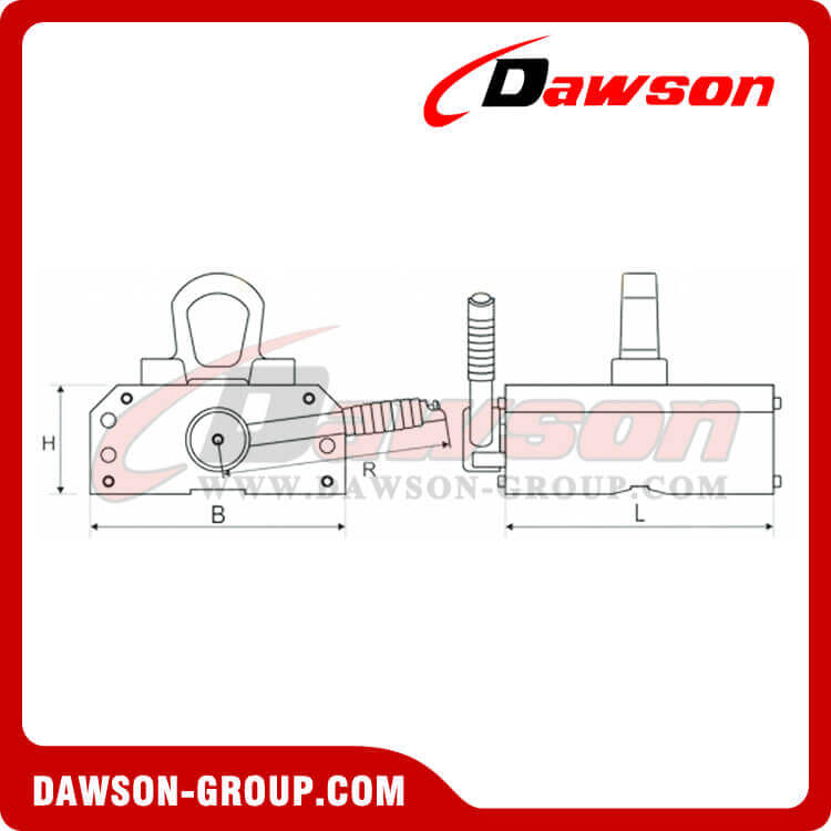 DS-PML-D YPE PERMANENT MAGNETIC LIFTER DAWSON-GROUP