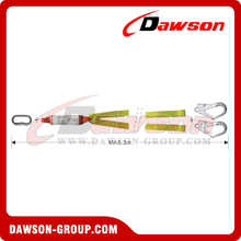DS6106A Energy Absorbers Webbing Lanyards EN355 EN354