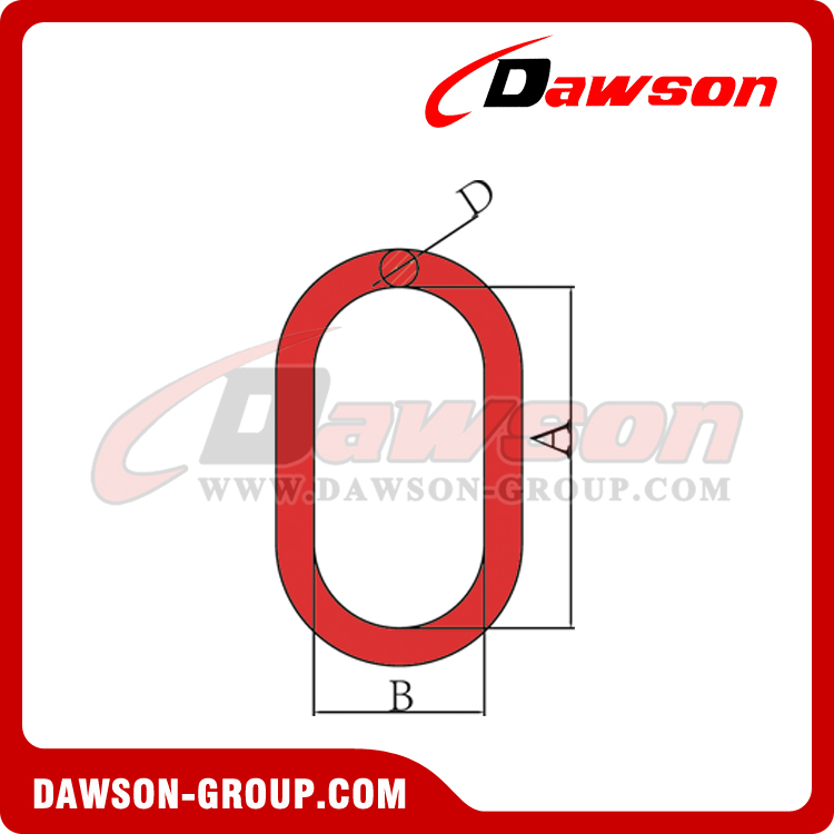 DS091 G80 FORGED MASTER LINK(U.S. TYPE) - DAWSON GROUP LTD. - CHINA FACTORY