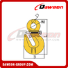 DS317 G80 Eye Shortening Cradle Grab Hook with Safety Pin for Lashing Chain