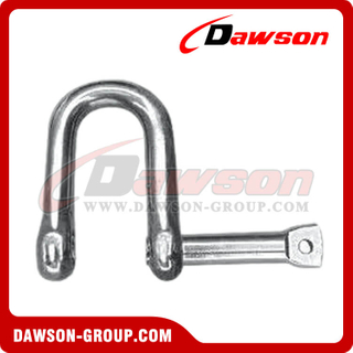 Stainless Steel European Type Shackle with Lock Pin