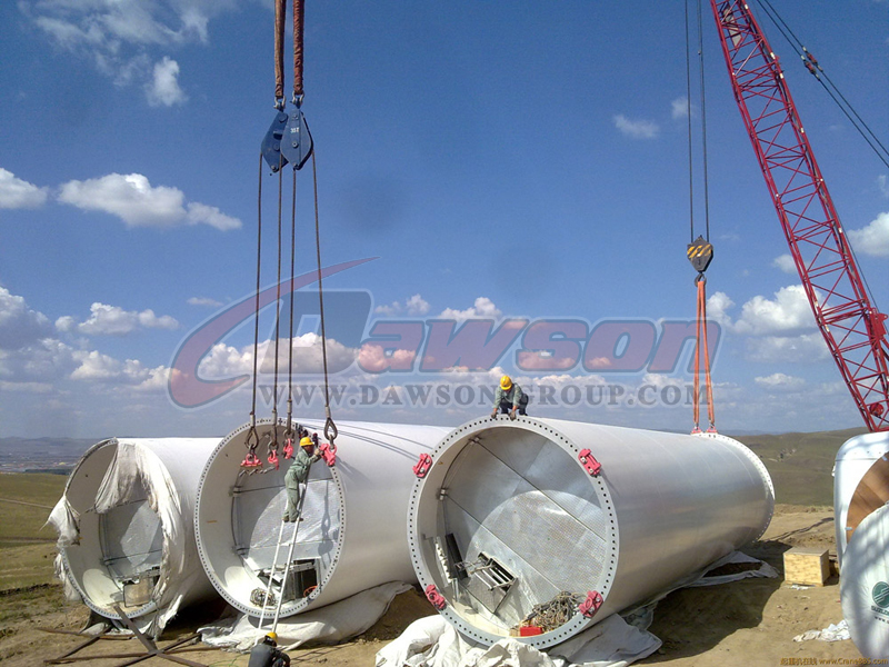 polyester round slings application
