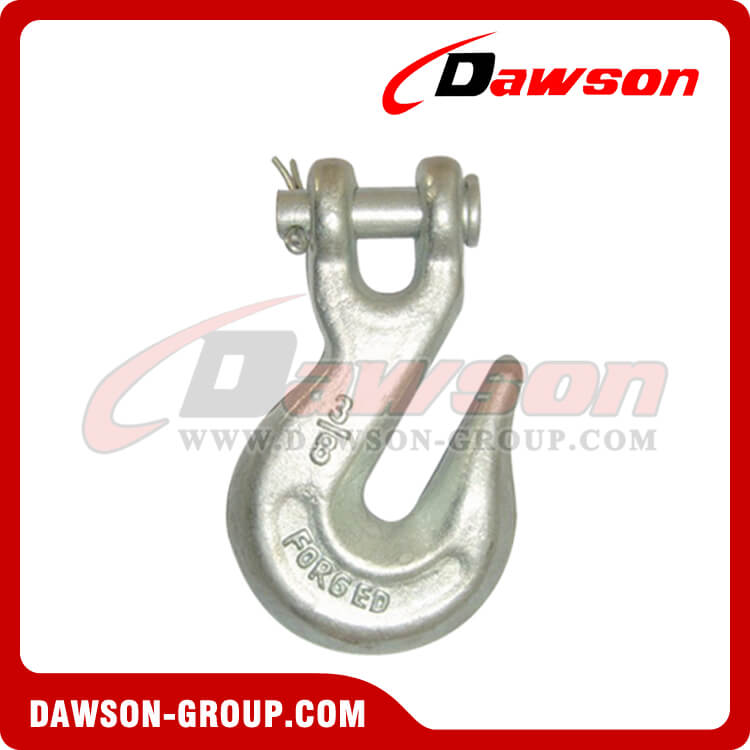 DS123 A-330 G70 Grade 70 Forged Clevis Grab Hook for Lashing, H-330 G43 Grade 43 Clevis Grab Hooks