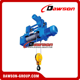 Hook Suspension type Hoist 2-1 Electric Wire Rope Hoist