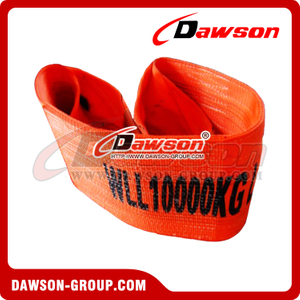 WLL 10 Ton Polyester Webbing Slings - Lifting Slings AS 1353