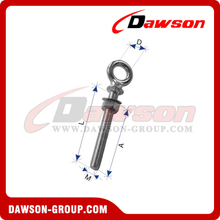 Stainless Steel European Type Forged Shoulder Eye Bolt