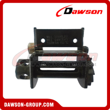 Portable Winch - Bottom or Side Mounted - Flatbed Truck Winches for Cargo Lashing Straps