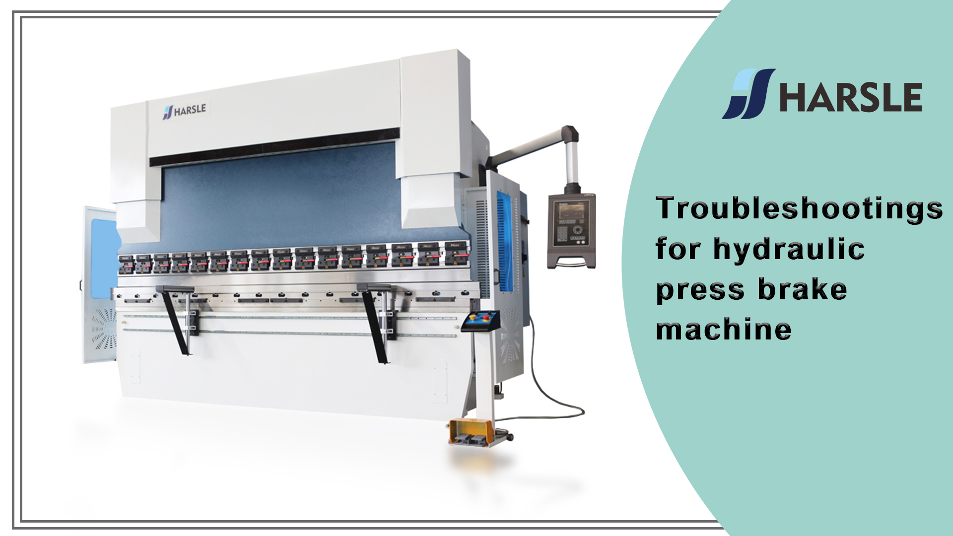 Troubleshootings for hydraulic press brake machine