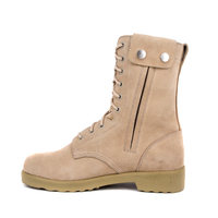 Youth zipper suede desert boot 7212