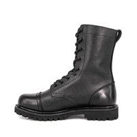 Army patrol grain full leather boots 6205