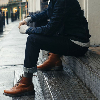 How To Wear Men's Brogues office shoes?