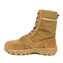 Wholesale men brown color military desert boot 7266