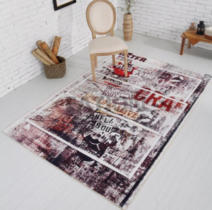 Popular Inexpensive Print Carpet Decor Area Rug