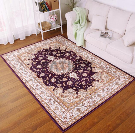 5'×8' Polyester Traditional Print Rug