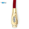 1080P 4K Metal HDMI Cable With Weaving Jacket