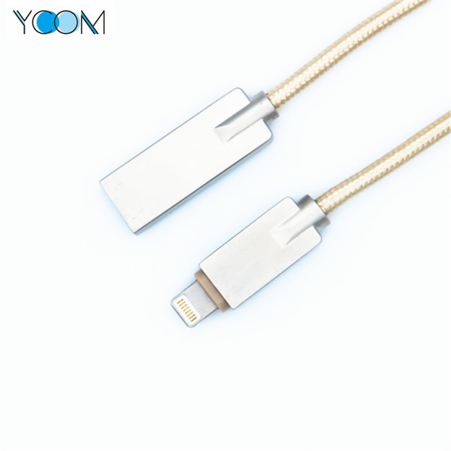 Weaving Lightning iPhone USB Charging+Data Cable