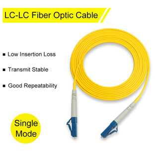 LC - LC Fiber Optic Patch Cable with Single Mode