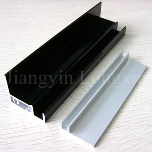Black Anodized Aluminum Profile for Solar Panel