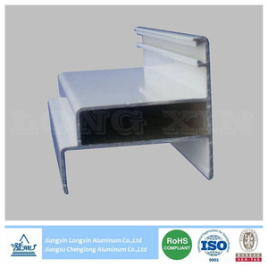 White Coated Aluminum Profile for Windows and Doors