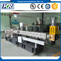 high effeicent filler masterbatch or color masterbatch extruder machine