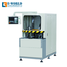 CNC Automatic UPVC Door Window Corner Clean Equipment