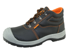 PU upper and PVC sole cheap work men safety shoes