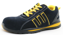 SRS001 suede leather industrial safety shoes sport