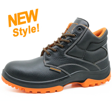 ENS027 black oil resistant anti slip work land esd safety boots