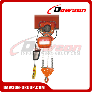 Electric Moving Chain Hoist Series with Phase Protection Device