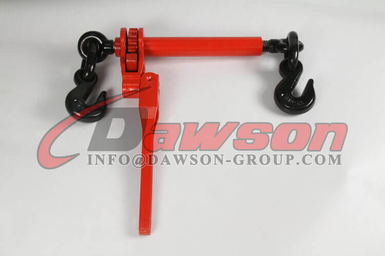 Folding Handle Ratchet Binder with Eye Grab Hook for Chain Size 5-1'' - 3-8'' WLL 7100LBS - Dawson Group Ltd. - China Manufacturer, Factory, Supplier