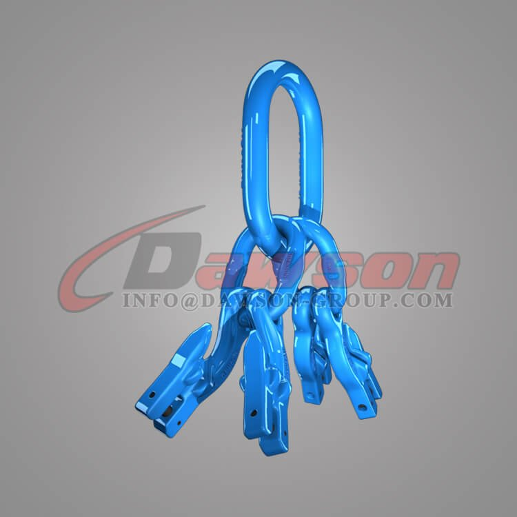 Grade 100 Master Link Assembly + Grade 100 Eye Grab Hook with Clevis Attachment×4 Dawson Group Ltd. - China Manufacturer, Supplier