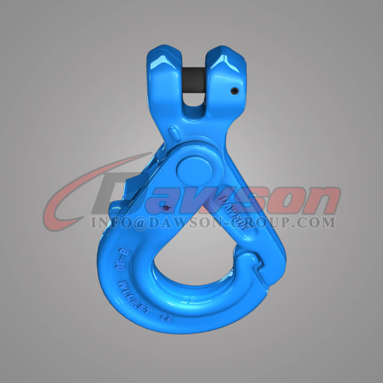 Grade 100 Forged Steel Special Clevis Self-locking Hook with Grip - Dawson Group Ltd. - China Manufacturer, Supplier