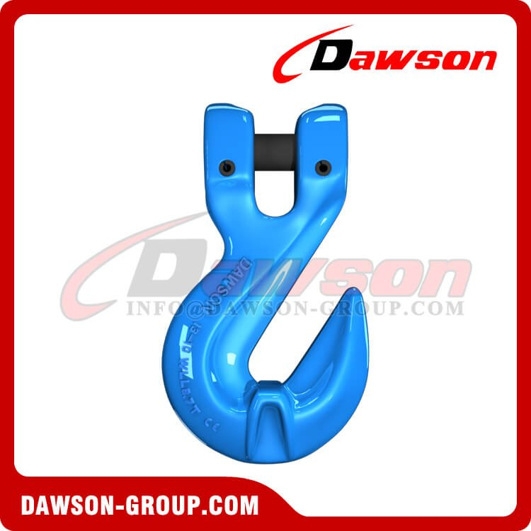 G100 Clevis Shortening Cradle Grab Hook with Wings, Grade 100 Alloy Steel Hook for Crane Lifting Slings - Dawson Group Ltd. - China Manufacturer
