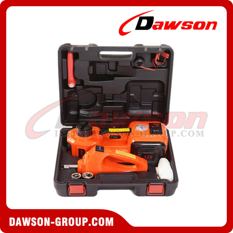DC 12V 5T Multi-functional Electric Hydraulic Floor Jack with Electric Impact Wrench - Dawson Group Ltd. - China Manufacturer, Supplier, Factory