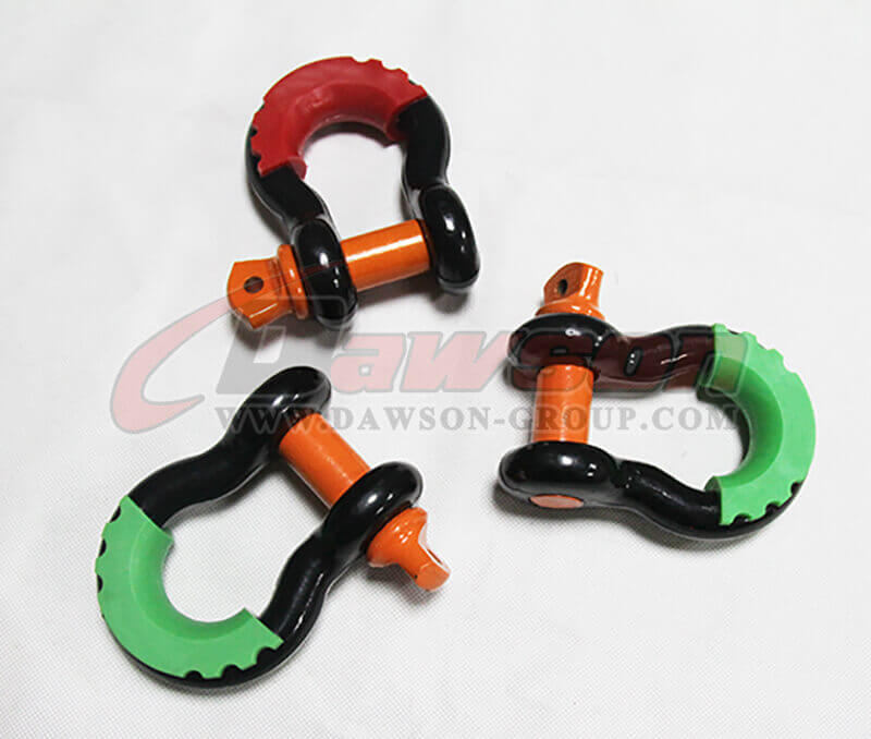 Drop Forged Bow Shackle with PU Protection - China Supplier, Factory