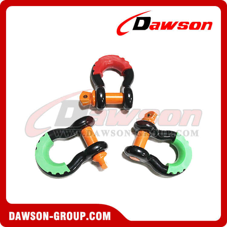 Dawson Drop Forged Bow Shackle with PU Protection - China Supplier, Factory