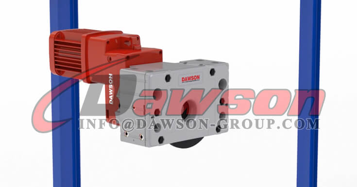 Application of Wheel Block Drive System with Gear Motor for Crane Traveling - Dawson Group Ltd. - China Supplier
